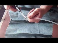 """Como confeccionar el corset 2ª parte """"Peticion"""" - YouTube"""