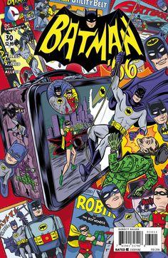 'Batman' '66 style comic art