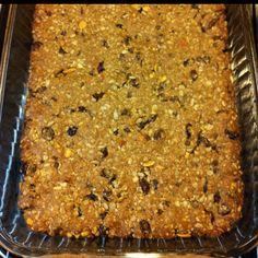 Allergy free - granola bars  No milk, no soy, no egg, no nuts, no gluten.   Easybreezyfoodallergies.blogspot.com