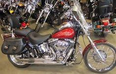 2008 Harley-Davidson Softail Custom 15586miles  Loaded, Stage 1, Windshield, Digital Speedo & Tac, Passenger Backrest, Lleather Saddle Bags, Luggage Rack, 96cc #2415 $16,999
