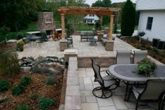 Outdoor Patio Designs Austin, MN - Landscaping and Landscape Design for Patio, Retaining Wall, Backyard and