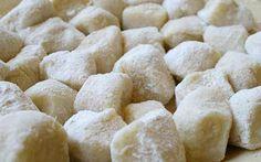 Homemade Gnocchi http://www.cookingwithnonna.com/italian-cuisine/potato-gnocchi.html