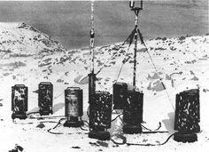 German Weather Station Kurt set up on the Hutton Peninsula, Labrador, Newfoundland (now Canada) on 22 Oct 1943