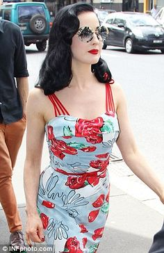 bc819af1277 From Dita Von Teese s red-carpet dresses to the costumes of Mad Men