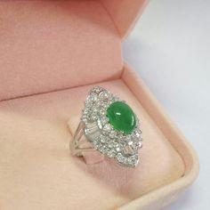 @jewelilove. Beautifully! Jadite ring
