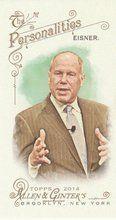 2014 Topps Allen Ginter Baseball Mini #22 Michael Eisner, Businessman