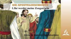 Die Jünger träumen immer noch von der Aufrichtung eines irdischen Königreiches von Israel. Die letzten Worte Jesu weisen aber weit darüber hinaus. Über den ganzen Planeten wird die Botschaft des wiederkommenden HERRN verbreitet werden, sobald die Apostel von der Kraft des Heiligen Geistes erfüllt sein werden. Die Jünger bereiten sich intensiv auf diesen Kraftempfang vor. Können wir dies kopieren? Acts Of The Apostles, Acts 1, Kings Of Israel, Seventh Day Adventist, Our Savior, End Of The World, New Life, Holy Spirit, Romans