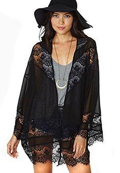 Frauen Boho Crochet Lace Floral Splice Chiffon Kimono Tops Cardigan Coat Schal (L   sleeve 69cm  Length  67cm) Hengsong http://www.amazon.de/dp/B00RZ65566/ref=cm_sw_r_pi_dp_SgMTub0TGCR0J