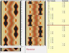 24 tarjetas, 7 colores, repite cada 16 movimientos // sed_1087 diseñado en GTT༺֍