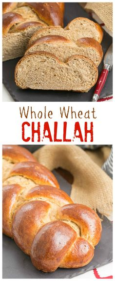 Whole Wheat Challah | Eggy, tender with the bonus of whole wheat! That ...