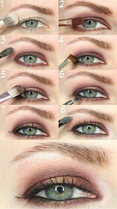 consejos para maquillarse los parpados caidos