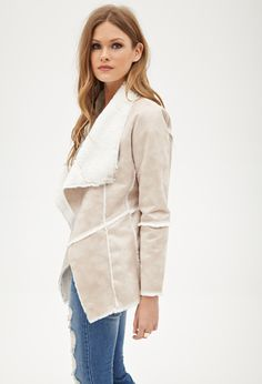 Faux Shearling Jacket | FOREVER21 - 2000060419