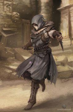 maitre espion assassin des drakons discret et obéissant à ses maitre