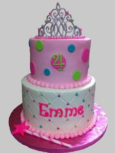 Princess Birthday Cake By kryptonite on CakeCentral.com