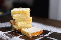 Gooey lemon bars that are the perfect balance of sweet and tart.