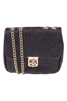 colette by colette hayman Mickey Quilted Crossbody in BLACK - $29.95