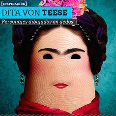 Personajes dibujados en dedos por DITO VON TEASE Arte digital en todo el sentido de la palabra.  Leer más: http://www.colectivobicicleta.com/2013/07/Personajes-en-dedos-de-DITO-VON-TEASE.html#ixzz2YCt05Dv5