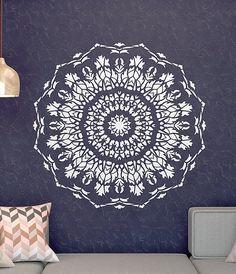 Ce pochoir mural facile à utiliser est une solution parfaite pour votre idée de décoration. NOTE : Ceci est un gabarit réutilisable. Vous pouvez