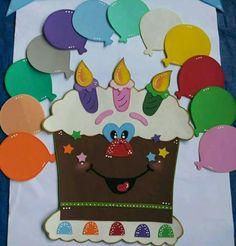 For birthday chart Birthday Chart Classroom, Birthday Bulletin Boards, Birthday Charts, Birthday Board, Kids Crafts, Preschool Activities, Preschool Classroom Decor, Class Birthdays, Birthday Display