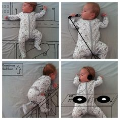 Fun baby photo ideas.