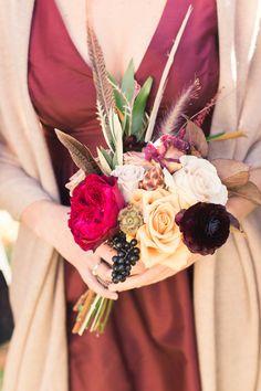 Fall elegance | Photography: Lauren Fair Photography - laurenfairphotography.com/ Read More: http://www.stylemepretty.com/2015/03/26/romantic-candlelit-autumn-wedding/