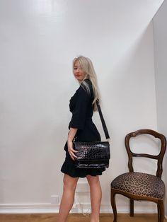 #fashion #muoti #naiset #vaatteet #naistenmuoti #naistenvaatteet #mekko #kesämekko #leatherhandbags #laukku Leather Bag, Boutique, Dresses, Bags, Style, Fashion, Handbags, Gowns, Moda
