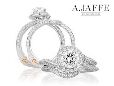 A. Jaffe Engagement Ring available at Razny Jewelers