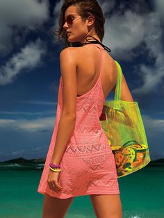 Crochet Cover-up PINK