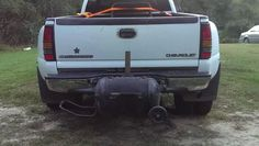 Tailgate Grill. Custom Bbq Smokers, Custom Trucks, Grills, Outdoor Decor