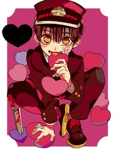 Image uploaded by Find images and videos about anime, manga and jibaku shounen hanako-kun on We Heart It - the app to get lost in what you love. Otaku Anime, 5 Anime, Anime Guys, Anime Art, Couple Anime Manga, Wallpaper Memes, Neko, Walpapers Cute, Hanako San
