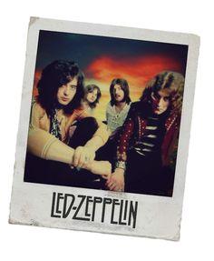 Led Zeppelin Polaroid