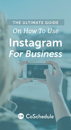 Tips and tricks for using Instagram for marketing http://coschedule.com/blog/how-to-use-instagram-for-business/?utm_campaign=coschedule&utm_source=pinterest&utm_medium=CoSchedule&utm_content=The%20Ultimate%20Guide%20On%20How%20To%20Use%20Instagram%20For%20Business