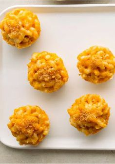 Homestyle Mac & Cheese Minis – Here's mac and cheese just like Mom used to make, with one difference—it's made in a muffin tin! Your family will love these adorable cheesy minis.