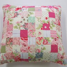 Patchwork cushion inspiration
