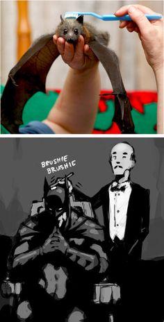 Pinche Batman cagado