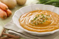 Ricetta Vellutata di carote alla cannella - Le Ricette di GialloZafferano.it