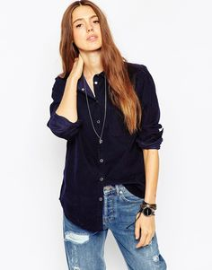 Buy ASOS TALL Cord Boyfriend Shirt at ASOS. Get the latest trends with ASOS now. Funky Outfits, Pretty Outfits, Latest Fashion Clothes, Fashion Online, Tall Jeans, Clothing For Tall Women, Boyfriend Shirt, Models, Mannequin