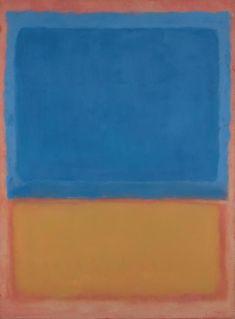 """Untitled (Red, Blue, Orange),"" 1955, Mark Rothko. Oil on canvas; 169.2 x 125.4 cm. Christie's sale 2007 $34,201,000."