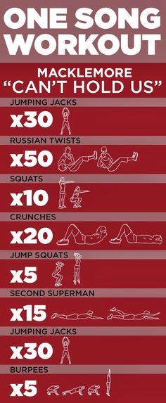 One Song Workout (9GAG).