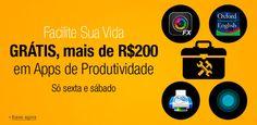 Amazon oferece gratuitamente mais de R$200 em aplicativos de produtividade - http://showmetech.band.uol.com.br/amazon-oferece-gratuitamente-mais-de-r200-em-aplicativos-de-produtividade/