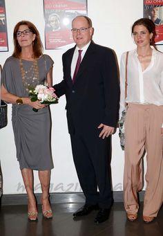 Princesa Carolina de Mónaco, Príncipe Alberto de Mónaco y Carlota Casiraghi