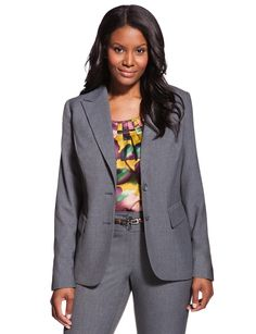 Sweet - plus size suiting that doesn't look boxy or boring