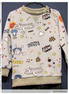 love this print Kid Closet, Night Suit, Boys Sweaters, Printed Shirts, Girl Outfits, Shirt Print, Sweatshirts, Cute, Cotton