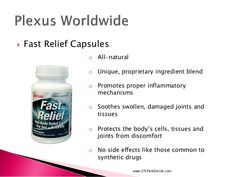 Fast Relief Capsules www.jointhinkpink.com