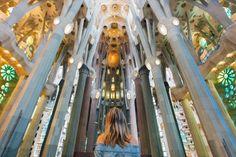 La Sagrada Familia Inside