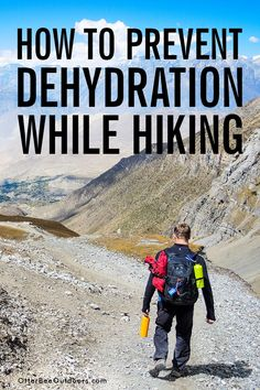 Adequate hydration is essential for your overall health while hiking, backpacking, or trekking. But did you know there's a right and wrong way to hydrate? Wellness Tips, Health And Wellness, Alkalized Water, Ionised Water, Signs Of Dehydration, Caffeine And Alcohol, Getting Rid Of Bloating, Fluid And Electrolytes, Electrolyte Drink