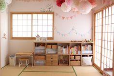 Room Design Bedroom, Playroom Design, Kids Room Design, Kids Bedroom, Baby Playroom, Baby Room Decor, Space Saving Furniture, Kids Furniture, Tatami Room