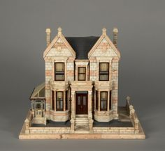 83.1612: Marble House | house | Dollhouses | Toys | National Museum of Play Online Collections | The Strong