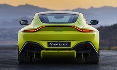 New Aston Martin Vantage Combines Supermodel Looks With AMG Power Aston Martin Vanquish, Aston Martin Vantage, New Aston Martin, Aston Martin Cars, Super Sport Cars, Super Cars, James Bond, Bugatti, Maserati