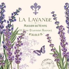 Lavendar Decoupage napkin, decoupage crafts, decoupage paper | Decoupage Designs USA